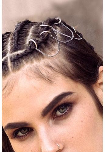 حلقه و زنجیرتزئینی مو