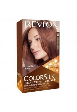 رنگ موی قهوه ای قرمز