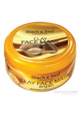 ماسک صورت روغن سیاه و قرمز